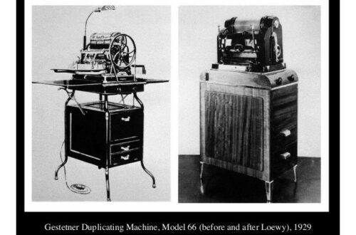 Gestner Duplicating machine